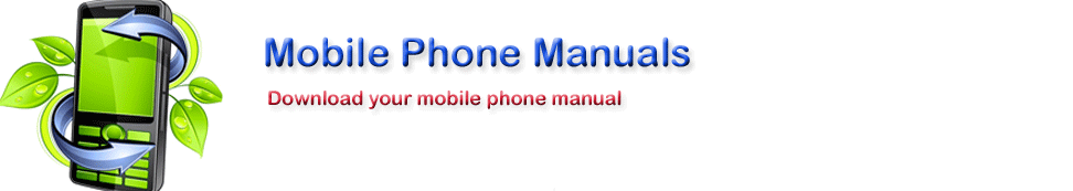Mobile Phone Manuals