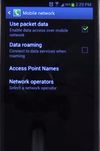 O2 APN Settings for Android | Mobile Phone Manuals
