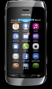 Nokia Asha 308 Settings