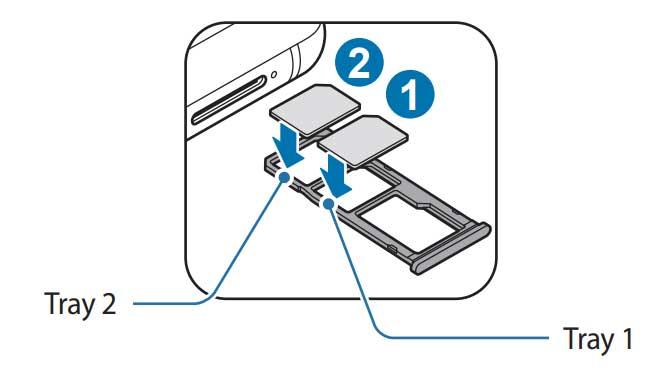 SIM or USIM card (nano-SIM card)